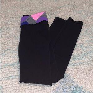 Ivivva Girls Size 7 Rhythmic Legging